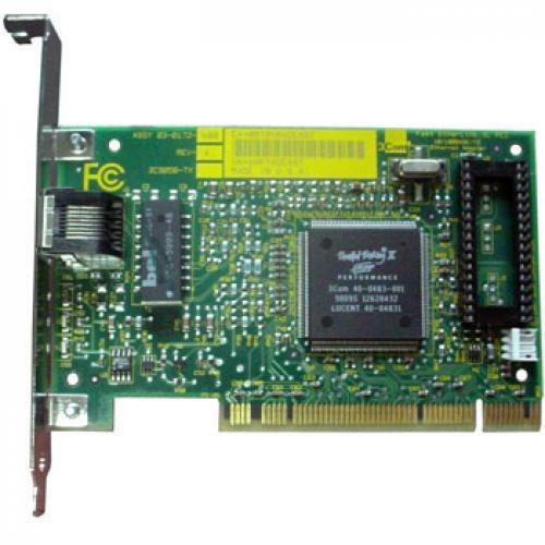 3Com Fast Etherlink XL PCI 10/100 Tarjetas Ethernet 3COM Fast Ethernlink XL PCI 10/100 Mbps RJ45