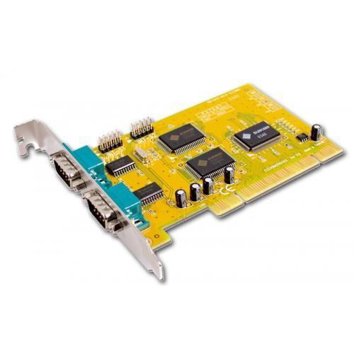 PCI Serie Tarjeta controladora 2 puertos serie PCI