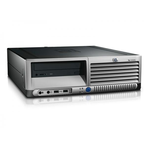 HP DC7700 SFF Intel Core 2 E6600 2.4 GHz. · 2 Gb. DDR2 RAM · 80 Gb. SATA · DVD · COA Windows XP Professional actualizado a Ubunt
