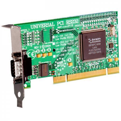 PCI Serie Tarjeta controladora 1 puerto serie PCI