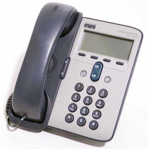 CISCO IP PHONE 7912G-A SCCP y SIP - 1 Línea - Pantalla Monocromo 192 x 64