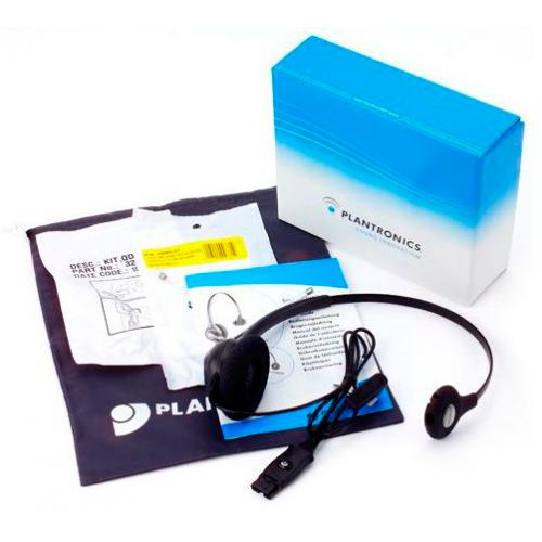 Plantronics HW111N Audífono Producto Ex-demo - Audífono profesional monoaural - Anulación de ruido - Micrófono ajustable con bra