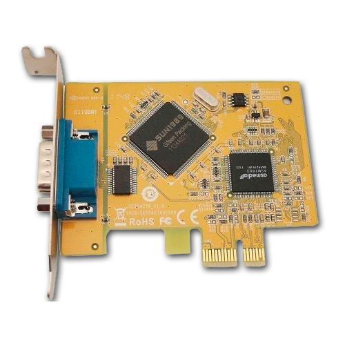 Dell PCI Express Serie Perfil Bajo Tarjeta controladora DELL 1 puerto serie PCI Express Perfil Bajo