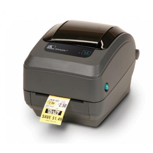 GK420t impresora de etiquetas Transferencia térmica 203 x 203 DPI Alámbrico