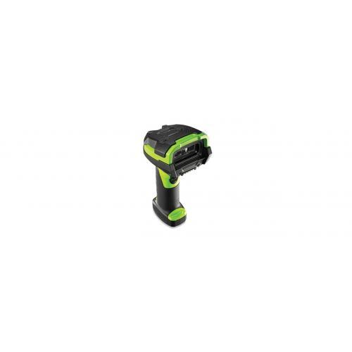 LI3678-SR Lector de códigos de barras portátil 1D Negro, Verde