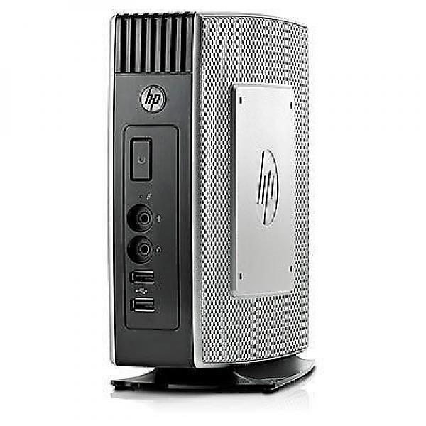 HP Thin Client T610WWAMD G-T56N 1,65 GHz - 4 Gb. DDR3 SODIMM SDRAM - 16 Gb. Flash - 6xUSB, 1xSerie, 1xDVI, 1xDisplayPort, 2x