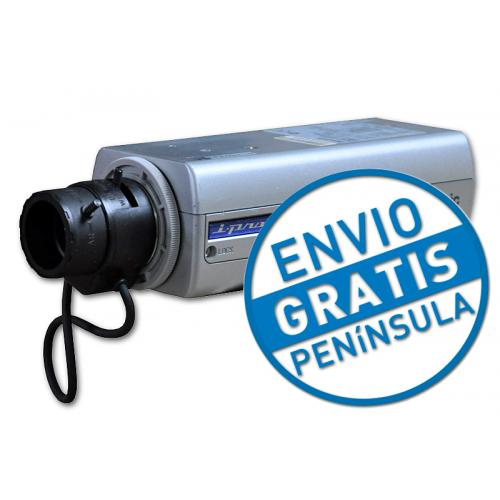 Panasonic WV-NP244E Progresive scan CCD - 1.1-1.5 lux - Motion detection - MPEG-4, Motion JPEG - Up to 640x480 30 fps - RJ45 - I