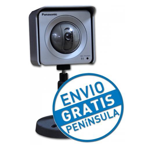 Panasonic BB-HCM531 1/4'' 320.000 pixel CCD - 2.8 lux - Motion detection - Motion JPEG - Up to 640x480 30 fps - RJ45 - Imagen 1