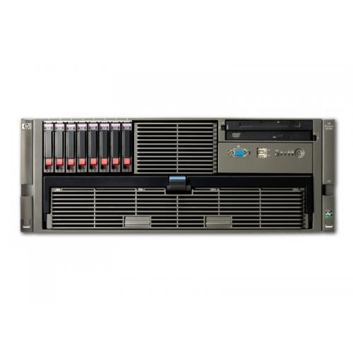 HP Proliant DL585 G2 4x AMD Opteron 8218 2.6 GHz. · 16 Gb. DDR2 ECC RAM · 32 bahías (24 vacías ) · 6x 146 Gb. SAS 2.5'' · 8 bah