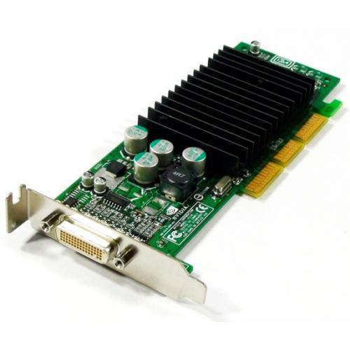 Nvidia GeForce FX5200 AGP LP Tarjeta Gráfica AGP 128 Mb. GeForce FX5200 Low Profile - Incluye cable DMS-59 con dos salidas VGA -