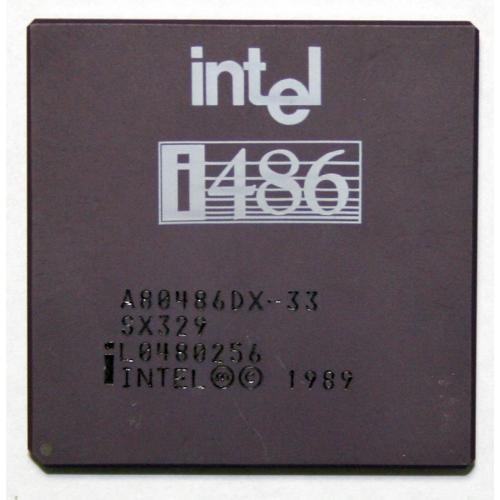 Intel 486 DX-33 Procesador Intel 486 DX-33 - Imagen 1