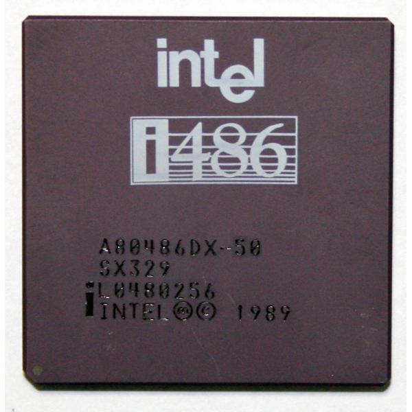 Intel 486 DX-50 Procesador Intel 486 DX-50 - Imagen 1