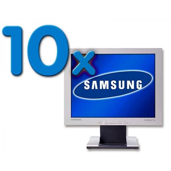 Samsung 152S Pack 10 Pack 10 Unidades: Grado B (ver fotos) - TFT 15'' 4:3. Resolución 1024 x 768. Pixel Pitch 0,3 mm. Brillo 250