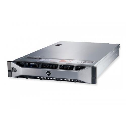 Dell PowerEdge R720 2U 2x Intel Xeon Octa Core E5-2670 2.6 GHz. · 256 Gb. DDR3 ECC RAM · 2x 4.00 Tb. SAS 3.5'' · 8 bahías (6 vac