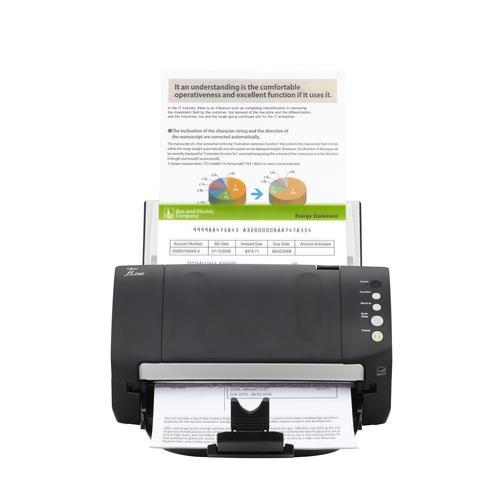 Fujitsu fi-7140 600 x 600 DPI Escáner con alimentador automático de documentos (ADF) Negro, Blanco A4
