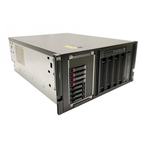 HP ML350 G6 RACK Intel Xeon Quad Core E5520 2.27 GHz. · 24 Gb. DDR3 ECC RAM · 15 bahías (9 vacías ) · 4x 146 Gb. SAS 2.5'' 1500
