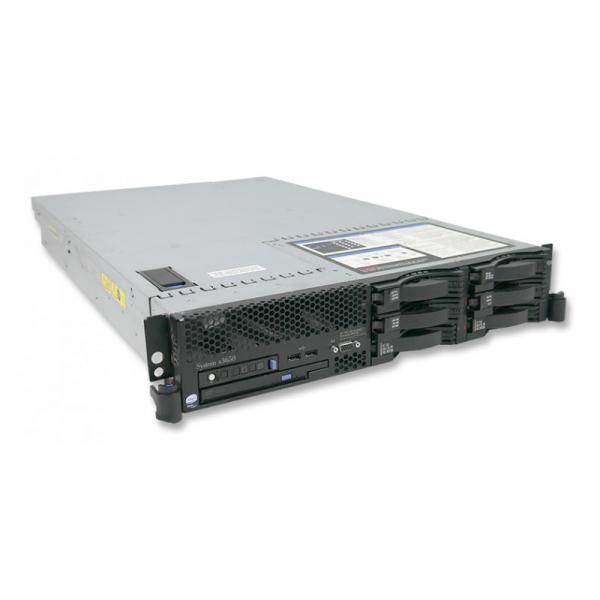 IBM Xseries X3650 Intel Xeon E5345 2.33 GHz. · 24 Gb. DDR2 ECC RAM · 6 bahías (0 vacías ) · 6x 146 Gb. SAS 3.5'' 15000rpm · Com