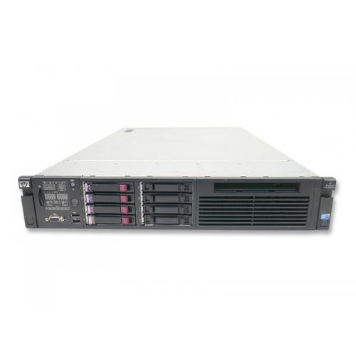 HP Proliant DL 380 G6 2x Intel Xeon Quad Core E5620 2.4 GHz. · 72 Gb. DDR3 ECC RAM · 18 bahías (0 vacías ) · 2x 300 Gb. SAS 2.5'