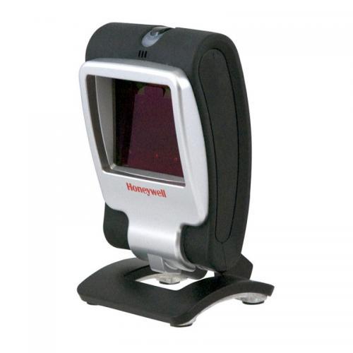 Genesis 7580g 1D/2D Negro, Plata Fixed bar code reader