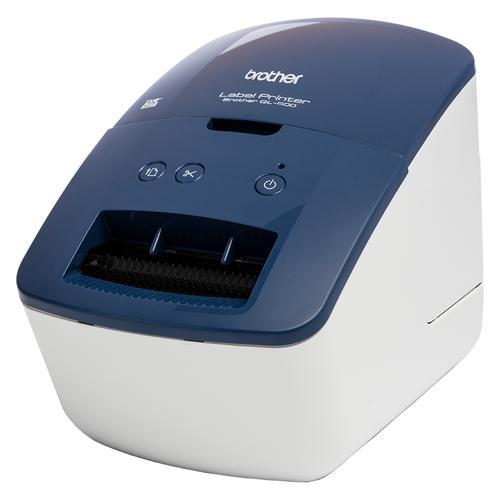 Brother QL-600B impresora de etiquetas Térmica directa 300 x 600 DPI Alámbrico - Imagen 1