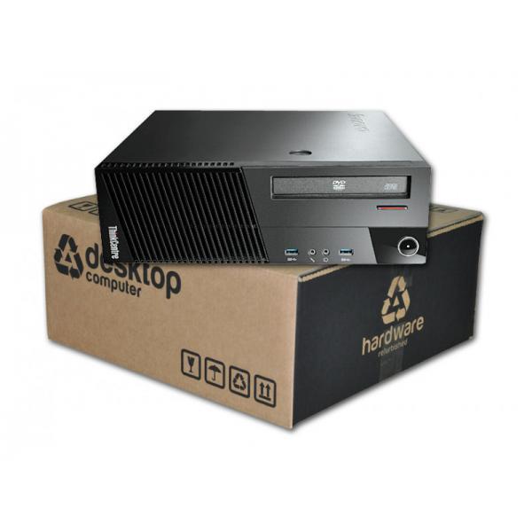 Lenovo ThinkCentre M93P Intel Core i5 4570 3.2 GHz. · 8 Gb. DDR3 RAM · 500 Gb. SATA · DVD-RW · Windows 7 Pro - Imagen 1