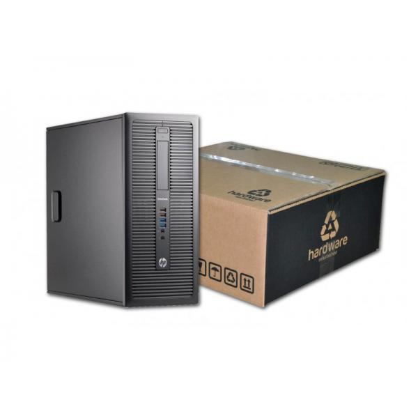 HP ProDesk 600 G1 i5 Torre Intel Core i5 4430S 2.7 GHz. · 16 Gb. DDR3 RAM · 240 Gb. SSD · 500 Gb. SATA · DVD-RW · Windows 10 Pro