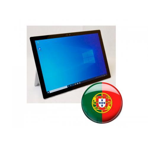 Microsoft Surface Pro 4 Intel Core i5 6300U 2.4 GHz. · 8 Gb. DDR3 RAM · 256 Gb. SSD · Windows 10 Pro (Portuguese) · Táctil 12.3