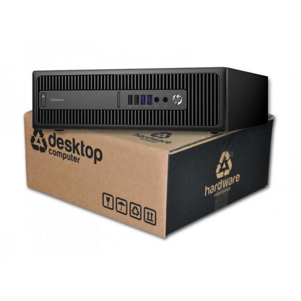 HP ProDesk 600 G2 Intel Core i5 6400T 2.2 GHz. · 8 Gb. DDR4 RAM · 256 Gb. SSD · Windows 10 Pro - Imagen 1