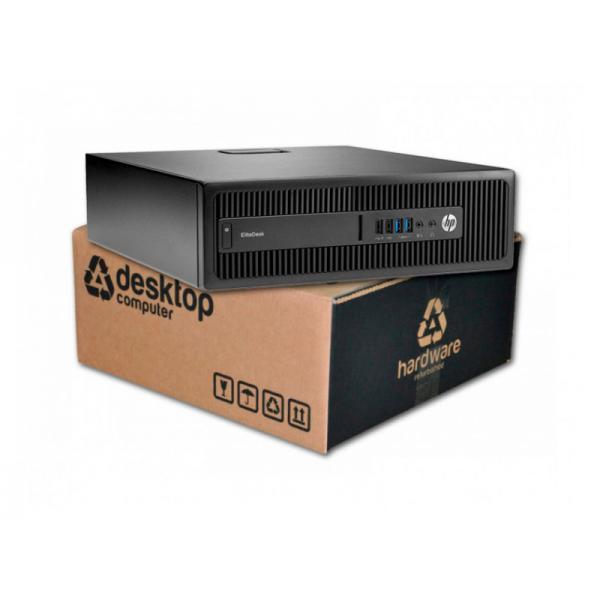 HP EliteDesk 800 G1 Intel Core i5 4590 3.3 GHz. · 8 Gb. DDR3 RAM · 500 Gb. SATA · Windows 10 Pro - Imagen 1