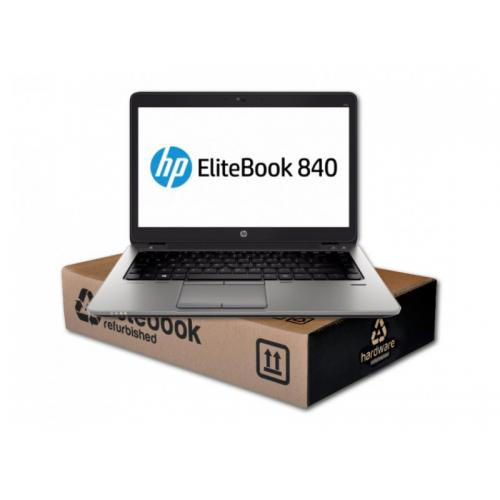 HP EliteBook 840 G2Intel Core i5 5300U 2.3 GHz. · 8 Gb. DDR3 RAM · 256 Gb. SSD · Teclado internacional con pegatinas en Cast