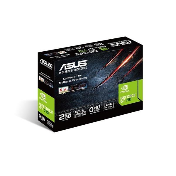 VGA ASUS GEFORCE GT710 2GB GDDR5 PASIVA