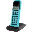 TELEFONO INALAMBRICO ALCATEL D285 NEGRO/TURQUESA