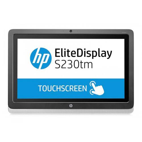 HP S230tm Táctil Táctil 23 '' FullHD con Altavoces · 16:9 · Resolución 1920x1080 · Dot pitch 0.265 mm · Respuesta 7 ms · Cont
