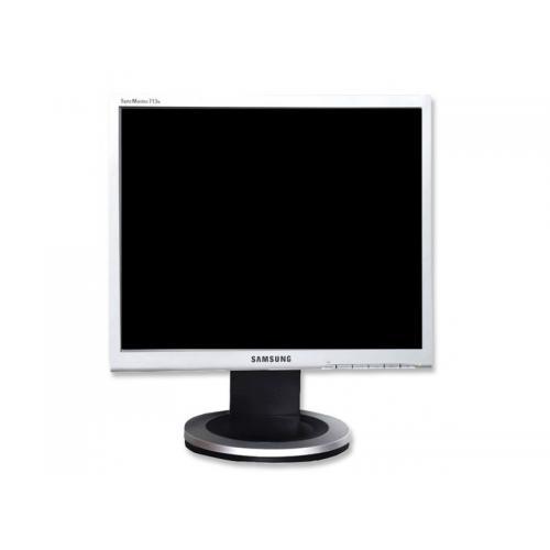 Samsung 713N TFT 17 '' HD 4:3 · Resolución 1280x1024 · Respuesta 8 ms · Contraste 700:1 · Brillo 250 cd/m2 · Ángulo visión 170