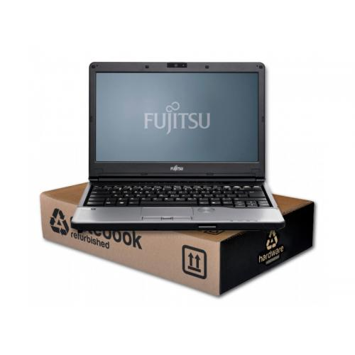 Fujitsu Lifebook S792 Intel Core i7 3540M 3 GHz. · 8 Gb. SO-DDR3 RAM · 128 Gb. SSD · DVD-RW · Teclado internacional con pegatina