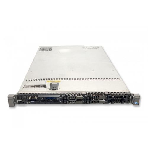 Dell PowerEdge R610 1U 2x Intel Xeon Quad Core E5504 2 GHz. · 48 Gb. DDR3 ECC RAM · 12 bahías (0 vacías ) · 4x 300 Gb. SAS 2.5'