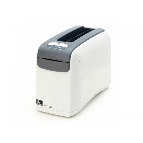 Zebra HC100 Impr. de Pulseras Longitud Máxima de Impresión: 558mm Longitud Mínima de Impresión: 73mm Anchuras de Impresión: 19,0