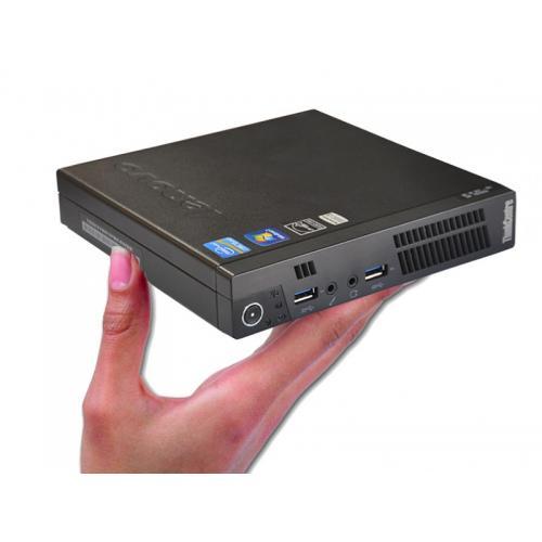 Lenovo M93P Tiny Barebone Intel Core i5 4570T 2.9 GHz. · 4 Gb. SO-DDR3 RAM · - Sin disco - · Windows 8 Pro · Barebone: Configúre