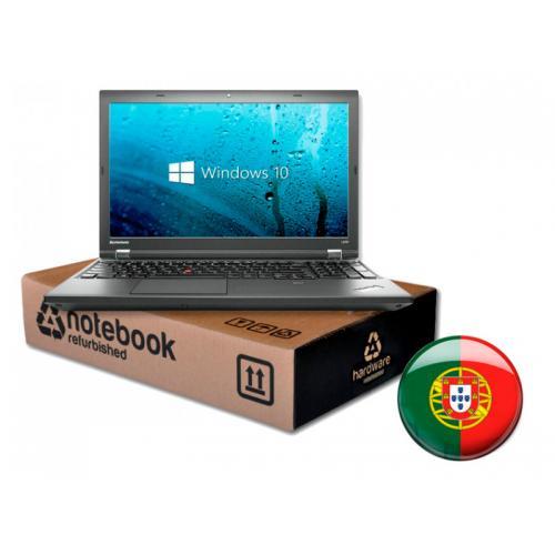 Lenovo Thinkpad L540 Intel Core i5 4200M 2.5 GHz. · 8 Gb. SO-DDR3 RAM · 240 Gb. SSD · DVD · Teclado y SO Portugués · TFT 15.6 ''