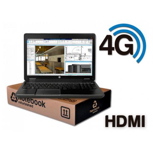 HP ZBook 15 G3 WorkStation Intel Core i7 6700HQ 2.6 GHz. · 32 Gb. SO-DDR4 RAM · 512 Gb. SSD M2 · Windows 10 Pro · Led 15.6 '' Fu
