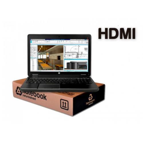 HP ZBook 15 G3 WorkStation Intel Core i7 6820HQ 2.7 GHz. · 16 Gb. SO-DDR4 RAM · 256 Gb. SSD M2 · Windows 10 Pro · Led 15.6 '' Fu