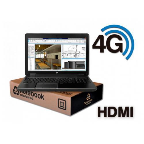 HP ZBook 15 G3 WorkStation Intel Core i7 6820HQ 2.7 GHz. · 16 Gb. SO-DDR4 RAM · 512 Gb. SSD M2 · Windows 10 Pro · Led 15.6 '' Fu