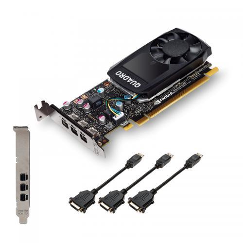 VCQP400DVIV2-PB tarjeta gráfica NVIDIA Quadro P400 V2 2 GB GDDR5