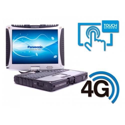 Panasonic Toughbook CF-19 MK7 Intel Core i5 3340M 2.7 GHz. · 8 Gb. SO-DDR3 RAM · 500 Gb. SATA · Windows 10 Pro · Táctil 10.4 ''