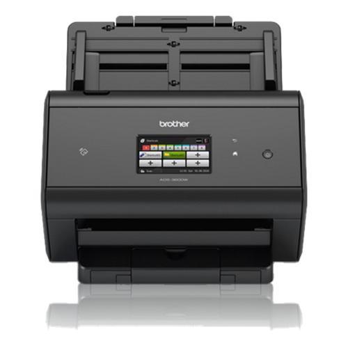 Brother ADS-2800W escaner 600 x 600 DPI Escáner con alimentador automático de documentos (ADF) Negro A4 - Imagen 1