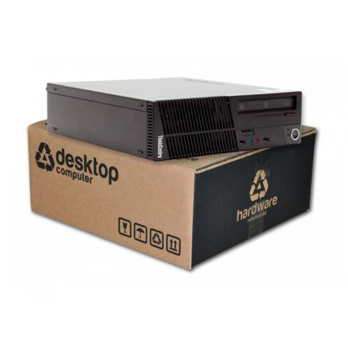 Lenovo ThinkCentre M72eSFF Intel Core i7 3770S 3.1 GHz. · 16 Gb. DDR3 RAM · 240 Gb. SSD · DVD · Windows 10 Pro