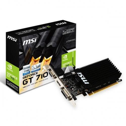 VGA MSI GT 710 1GB DDR3 LP PASIVA VGA HDMI DVI-D