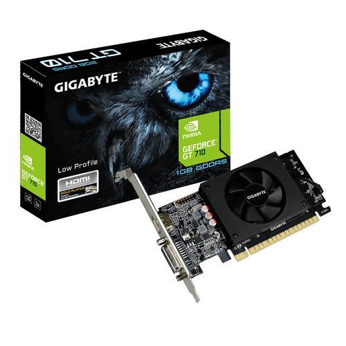 Gigabyte GV-N710D5-1GL tarjeta gráfica NVIDIA GeForce GT 710 1 GB GDDR5