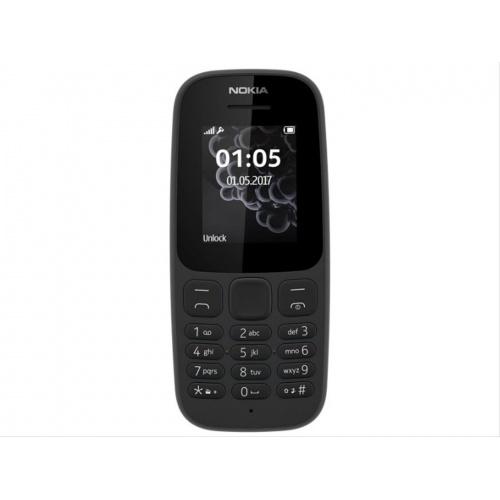 TELEFONO MOVIL NOKIA 105 DUAL-SIM BLACK