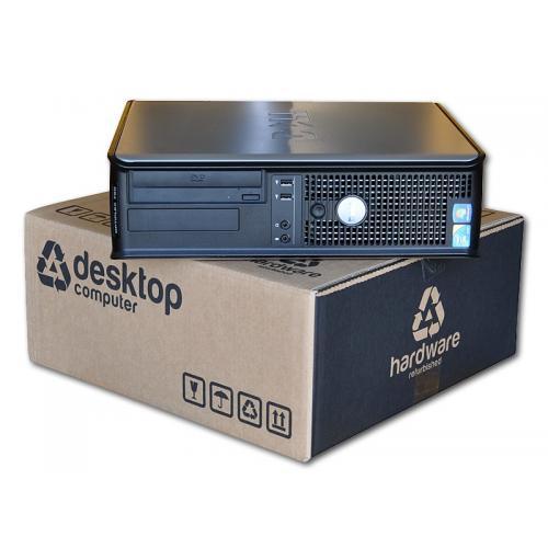 Dell Optiplex GX755 SDIntel Core 2 Duo E6750 2.6 GHz. · 4 Gb. DDR2 RAM · 80 Gb. SATA · DVD-RW · COA Windows 7 Home Premium